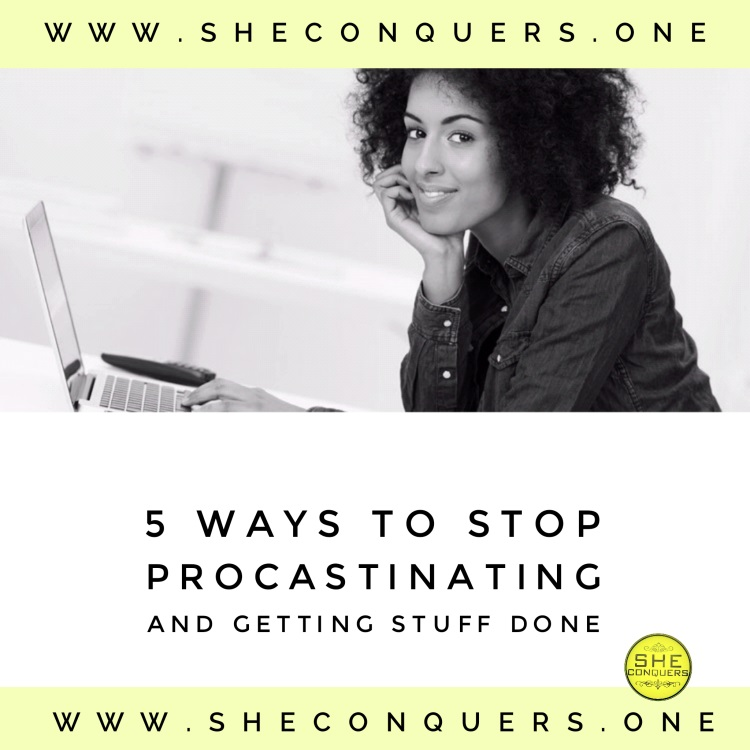 5ways tostopprocrastinating
