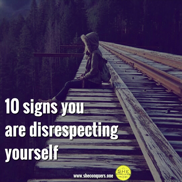 selfdisrespct
